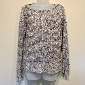 Eileen Fisher   Loose Knit Boxy Chunky Sweater